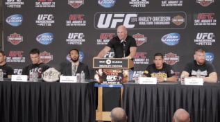 UFC 164 Press Conference